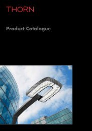 Thorn Lighting Product Catalogus