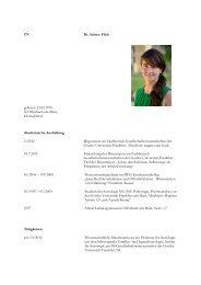 CV 8 2013 für HP ohne Einwerbungen - Goethe-Universität