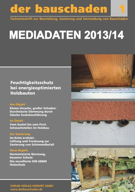 Mediadaten - Forum Verlag Herkert GmbH