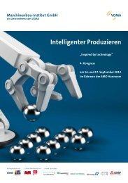 Intelligenter Produzieren - VDMA