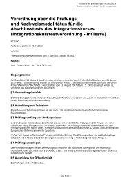 Verordnung über die Prüfungs - Gesetze im Internet