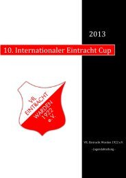 10. Internationaler Eintracht Cup - homepage-baukasten-dateien.de