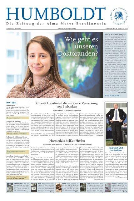 Ausgabe 2 – 2013/2014 - Humboldt-Universität zu Berlin