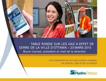 Présentation - Hydro Ottawa