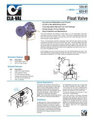 624-01 - Float Valve