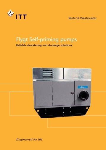 Flygt Self-priming pumps - hydrotek engineering company