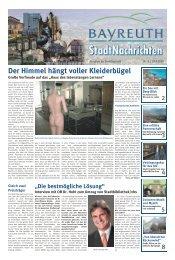 Amtsblatt Nr. 08/09 vom 24. April 2009 - Stadt Bayreuth