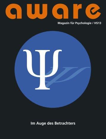 Im Auge des Betrachters - aware – Magazin für Psychologie