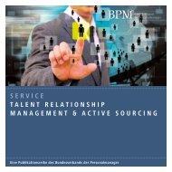 Talent Relationship Management & Active Sourcing - BPM ...