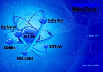 DESIGN TestS stem ReNew - WesTest.de
