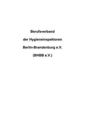 Satzung (PDF-Datei) - Berliner Berufsverband der ...