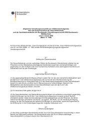 Allgemeine Verwaltungsvorschrift zum Infektionsschutzgesetz über ...