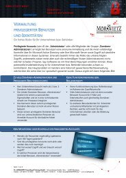 Flyer - Dr. MORAWIETZ GmbH