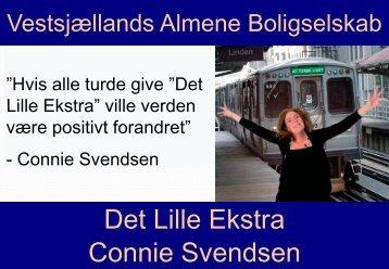 Præsentation fra Connie Svendsen - Cabi