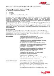 m/w - Berlin Partner GmbH