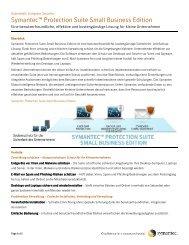 "Symantecâ""¢ Protection Suite Small Business Edition - ARP"