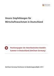 Unsere Empfehlungen für Wirtschaftswachstum in Deutschland