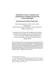 Baumgartner_Quast_1997_Handelndes Lernen Evaluation eines ...
