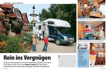 Ein Besuch im Freizeitpark, wie hier im schwäbischen ... - HYMER.com