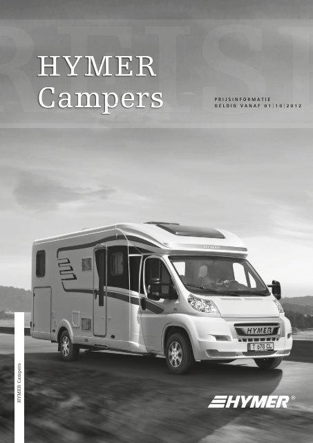 Hymer Campers Prijslijst en Technische Gegevens NL 2013