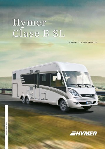 Hymer Clase B SL - HYMER.com