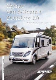 Hymer Van & Exsis-i Premium 50 - HYMER.com
