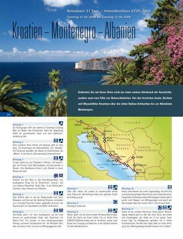Reisedauer 21 Tage – Anmeldeschluss 02.05.2008 - HYMER.com