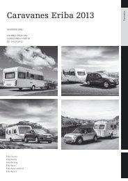 Caravanes Eriba 2013 - HYMER.com
