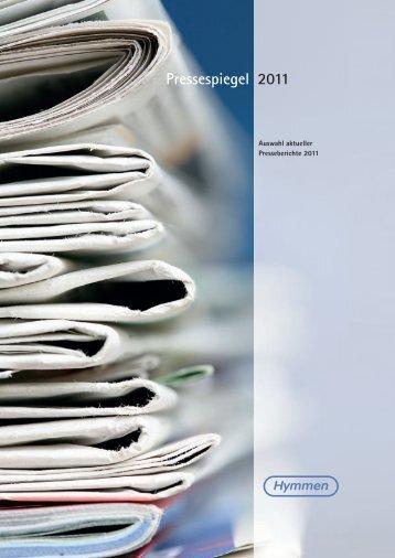 Pressespiegel 2011 - Hymmen