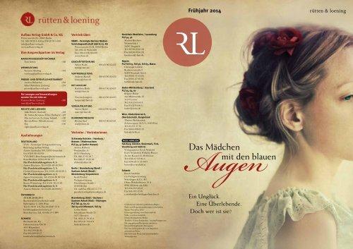 rütten & loening Frühjahr 2014 - Aufbau Verlag