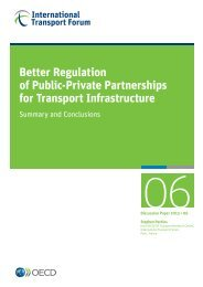 Better Regulation of Public-Private Partnerships for Transport ...