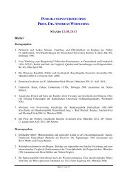 Publikationsverzeichnis zum Download - Institut für Zeitgeschichte