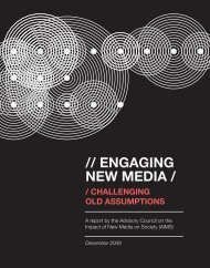 Engaging New Media: Challenging Old Assumptions
