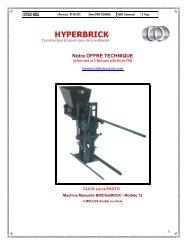 Notre OFFRE Technique générale - Hyperbrick