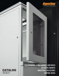 Telecommunication Cabinets and Racks, Outdoor - Hyperline