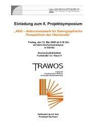 Einladung zum II. Projektsymposium - Hypertransformation