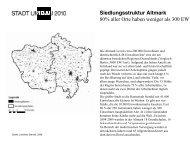 Siedlungsstruktur Altmark 80% ll O h b i l 300 80% aller Orte haben ...
