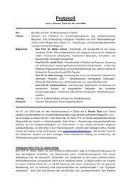 Protokoll Runder Tisch 4 - Hypertransformation