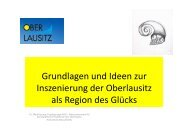 Grundlagen und Ideen zur Inszenierung der Oberlausitz als Region ...
