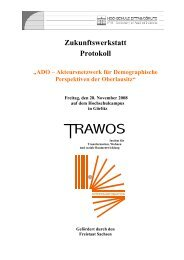 Protokoll ADO-Zukunftswerkstatt 28.11.2008 - Hypertransformation