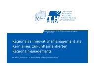 Regionales Innovationsmanagement als Kern eines ...