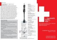 … Giacometti, Hodler, Klee … - Kunsthalle der Hypo-Kulturstiftung