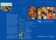 Druckversion (PDF) - Kunsthalle der Hypo-Kulturstiftung