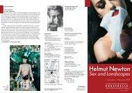 Helmut Newton - Kunsthalle der Hypo-Kulturstiftung