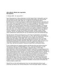 Alfons Mucha. Meister des Jugendstils Retrospektive 9. Oktober 2009