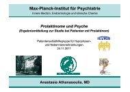 Prolaktinom : Auswirkungen auf die Psyche - Hypophysen