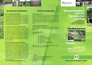 Lehr- und Versuchsbetrieb Gladbacherhof - Bioland
