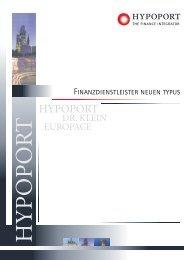 Imageprospekt A4-hochkant.cdr - Hypoport AG
