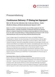 110623_PM IT Dialog bei Hypoport - Hypoport AG