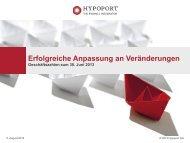 Präsentation Halbjahresbericht 2013 - Hypoport AG